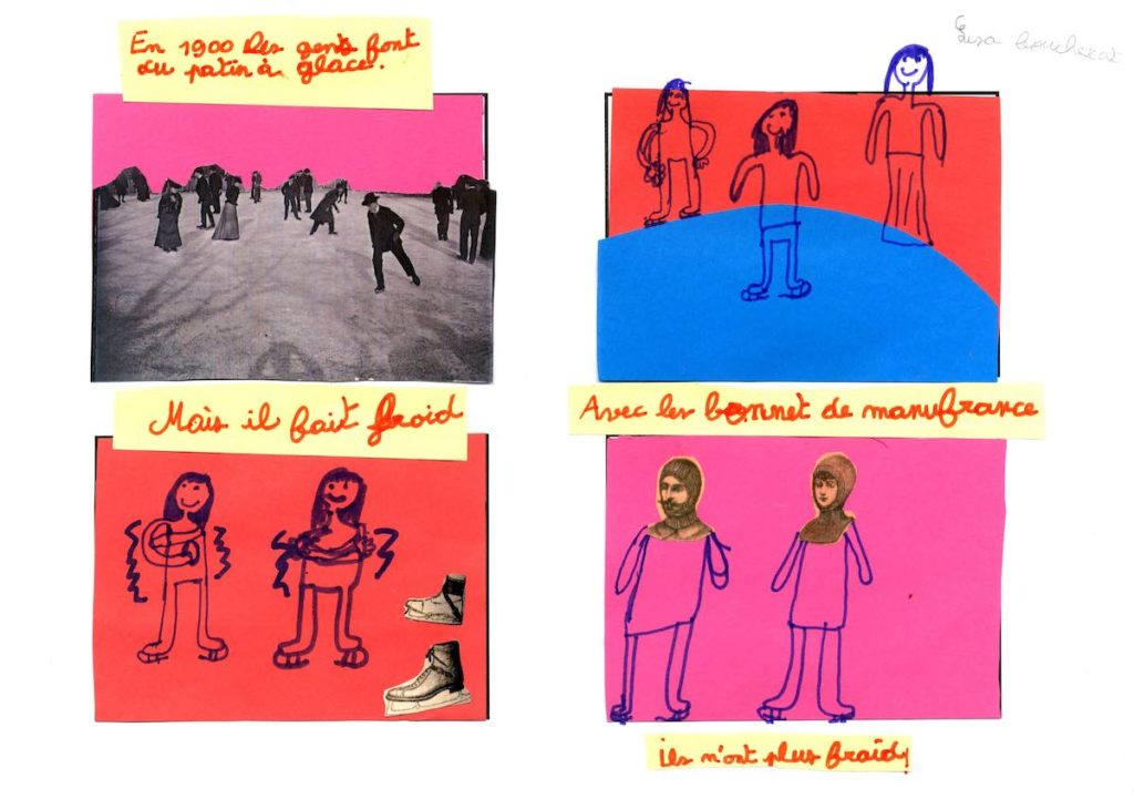 Dessins atelier médiathèque Saint Étienne 10