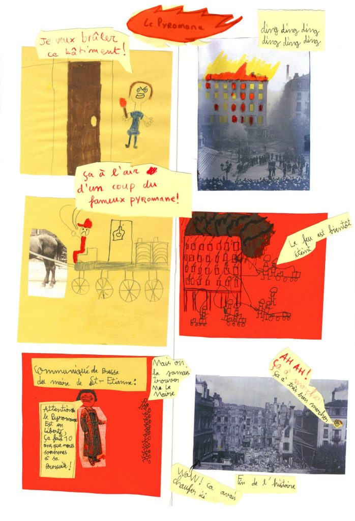 Dessins atelier médiathèque Saint Étienne 8
