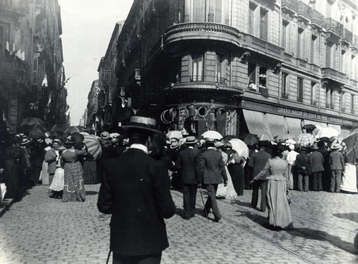 2 FI ICONO 1286, fête du couronnement de la Muse du Peuple, 1906