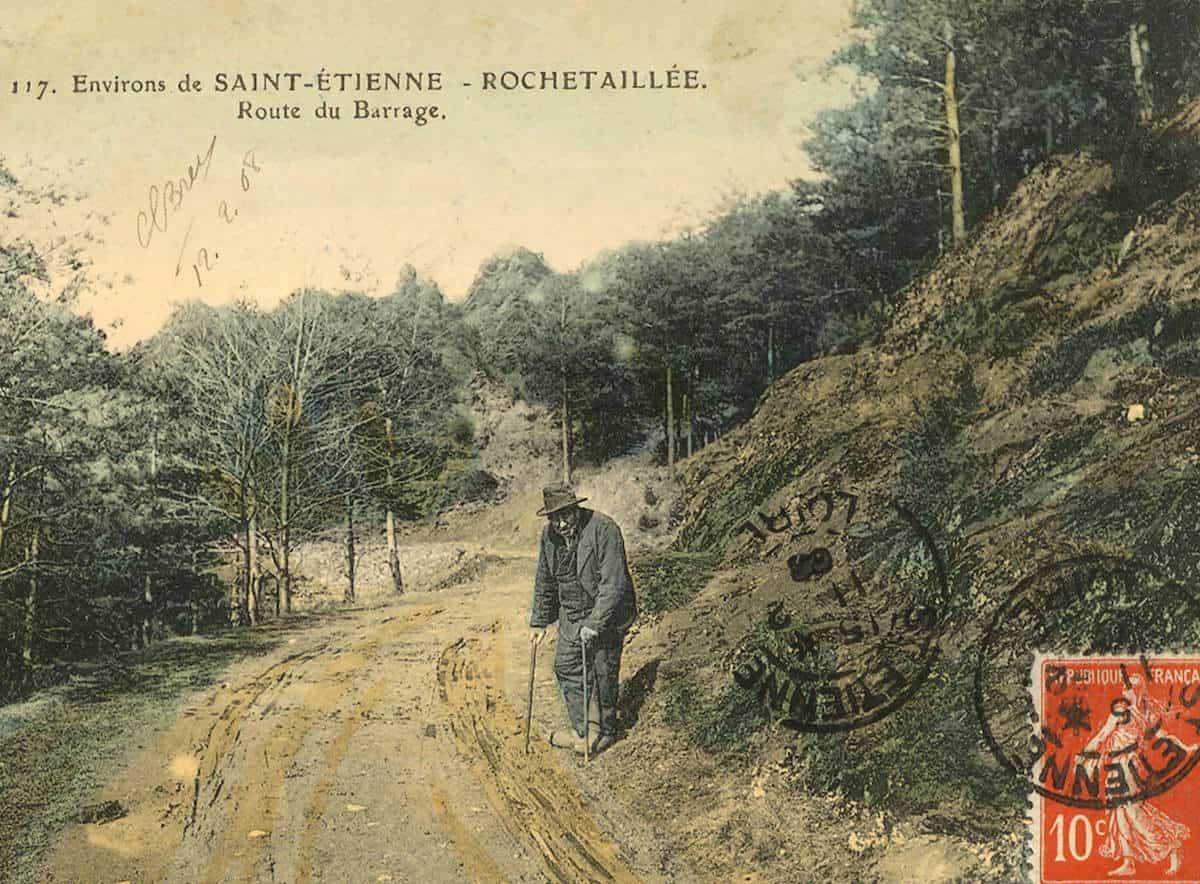 2 FI ICONO 3389, route du barrage de Rochetaillée, 1900