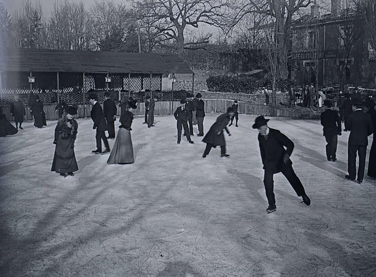 17 FI 86, patinoire du Rond-point, 1899