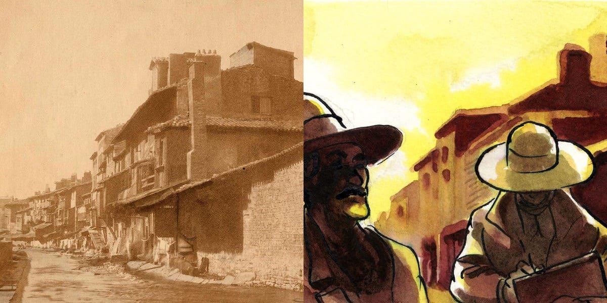 1 O ICONO 74 (3), quartier des Gauds avant régénération, 1856
